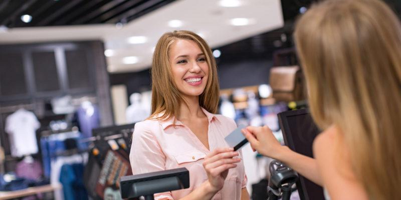 happy ecommerce customer