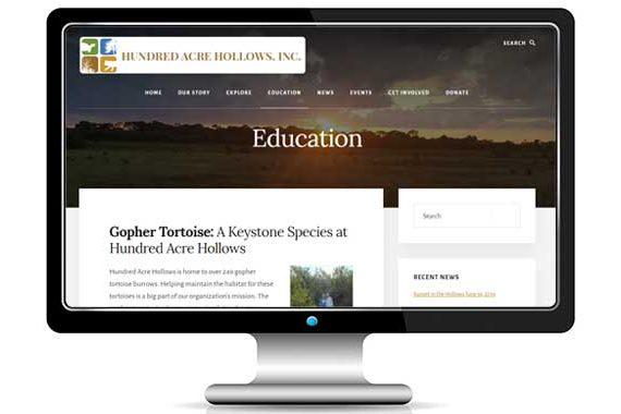 Hundred Acre Hollows Wordpress Blog