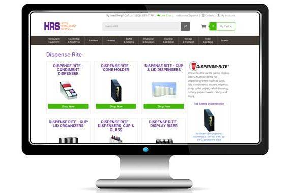 Hotel Restaurant Equipment E-commerce Website