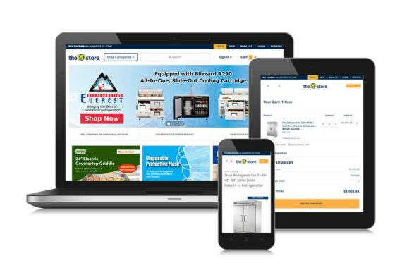 TheRDStore.com E-commerce Website Selling Restaurant Equipment and Supplies